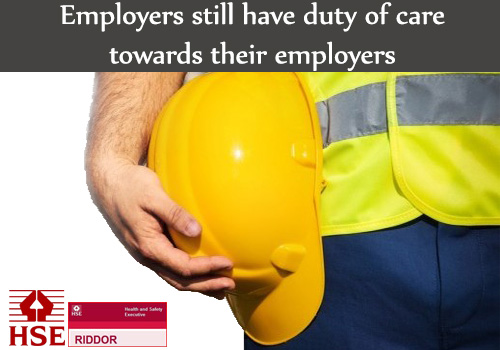 employers duty of care Us companies have no 'duty of care' to traveling employees under court precedents, employers have a duty of care to ensure that their employees who work or.